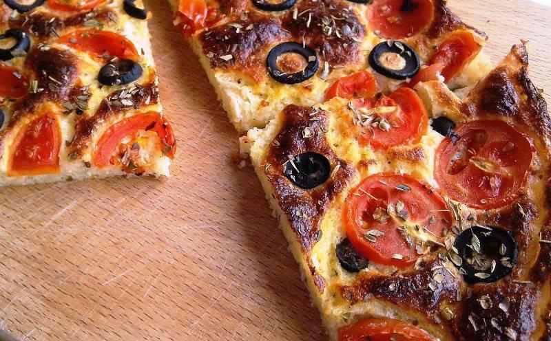 Posna pita od posnog sira i palente – slana verzija