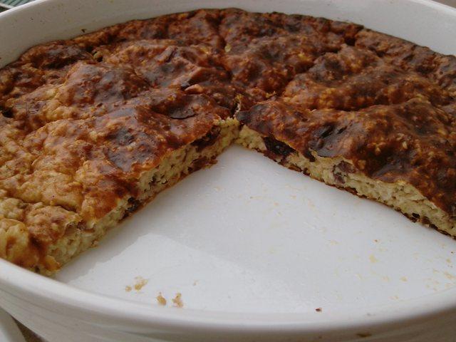 Slatka zobeno-sirna pita bez šećera