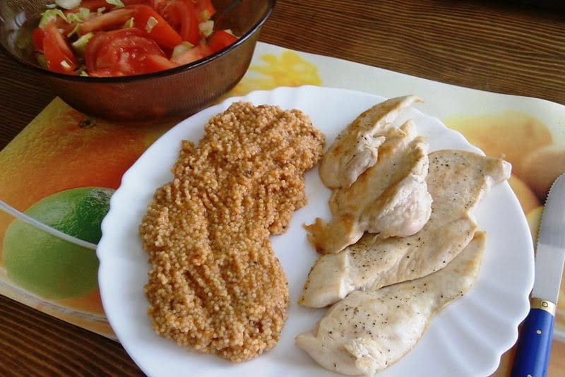 Brzi ručak: Pileća prsa s prosom