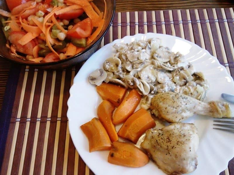 Brzi fit ručak: Pileći batak i zabatak iz pećnice