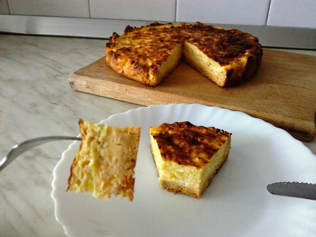 Mrkvozobeni tart (quiche) bez maslaca