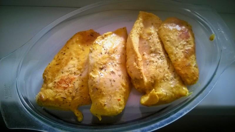 Pileća prsa u umaku od naranče i senfa
