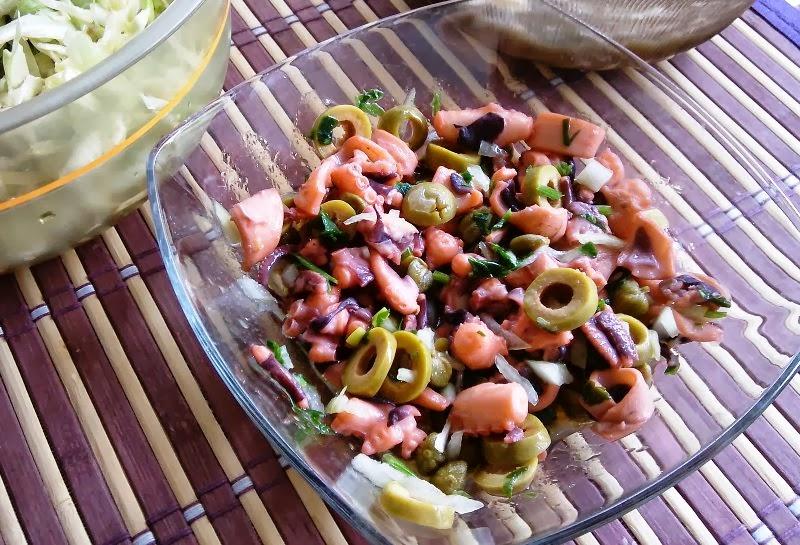 Salata od muzgavaca