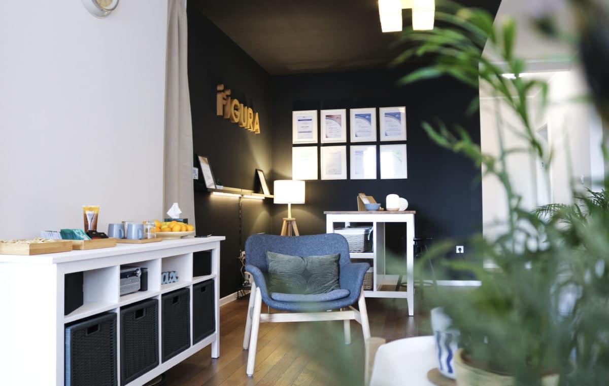 figura lounge recepcija masaza